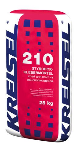 Клей для пенополостирола STYROPOR-KLEBEMORTEL 210 Kreisel